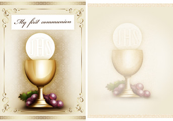 My first communion 2