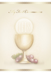 My first communion 3