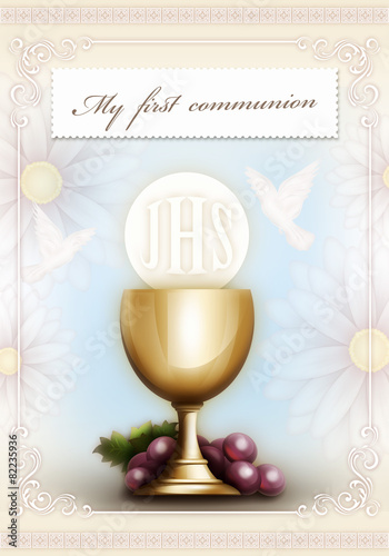 My first communion - 82235936