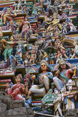 Kapaleeswarar temple in Chennai, Tamil Nadu, India