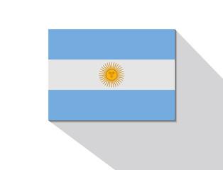 argentina long shadow flag