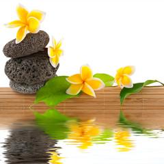 composition zen massage relaxation bien-être