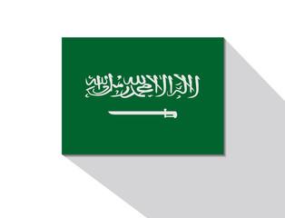 saudi arabia long shadow flag