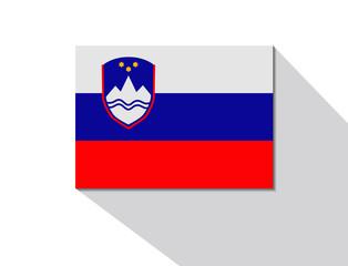 slovenia long shadow flag