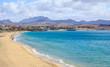Leinwandbild Motiv Costa Calma Fuerteventura