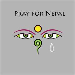 Pray for Nepal earthquake
