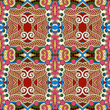 Fototapeta authentic seamless geometry vintage pattern