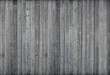 canvas print picture - Gray wood wall. 3d render