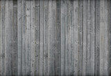 Gray wood wall. 3d render