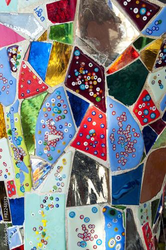 Papiers peints Statue Mosaico colorato