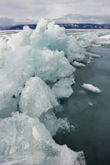 Blue ice of Baikal