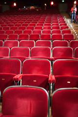 Sedili rossi al Teatro