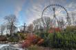 canvas print picture - HDR Gothenburg Liseberg Theme Park Atmosfear