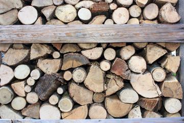 catasta di legna da ardere