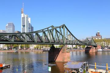 Frankfurt, Eiserner Steg (April 2015)