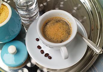 Kaffeegedeck