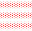 Cotton fabric White and red pop-art, polka dot seamless background,  seamless