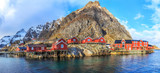 Reine fishing village, Lofoten, Norway - 82259583