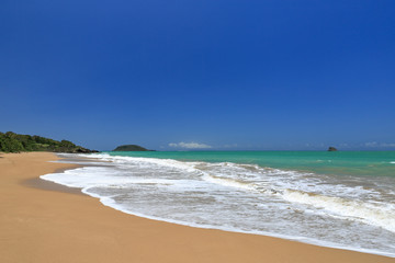 Guadeloupe - plage de  Cluny