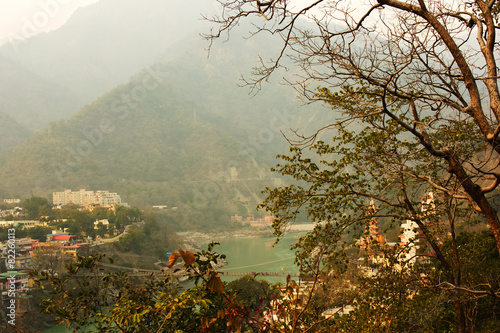 Foto op Plexiglas Indonesië Rishikesh landscape