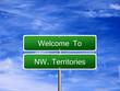 Northwest Territories Welcome Sign