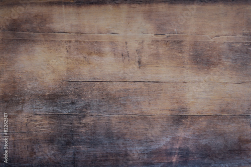 Tuinposter Hout Vintage Holz - alte Theke