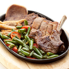 Grilled Meat Pan