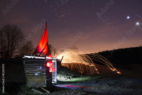 Foto op Plexiglas Fantasie Landschap Light sailing