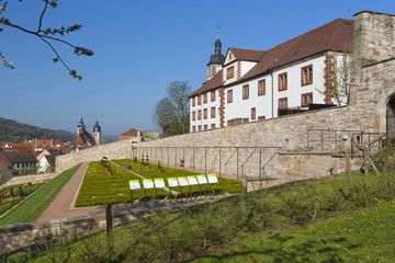Schmalkalden, Schloss Wilhelmsburg mit neuen Gartenterassen