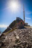 Spitze des Säntis in den Schweizer Alpen