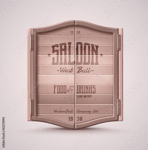 Saloon Doors - 82270994