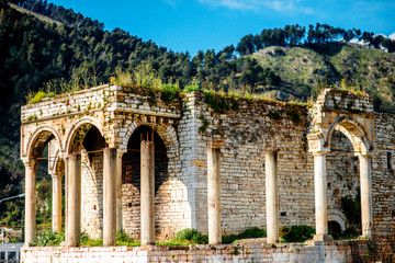 Ruins in Berat city