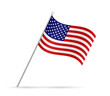 USA Flag Illustration - 82271397