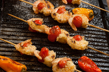 Grilled Parmesan Shrimp