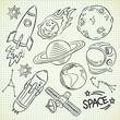 space doodle set - 82272376