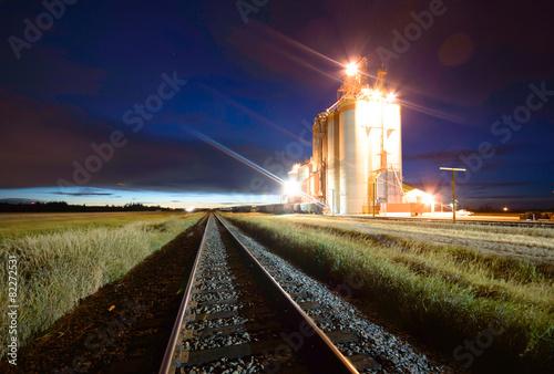 Foto op Canvas Europa railway