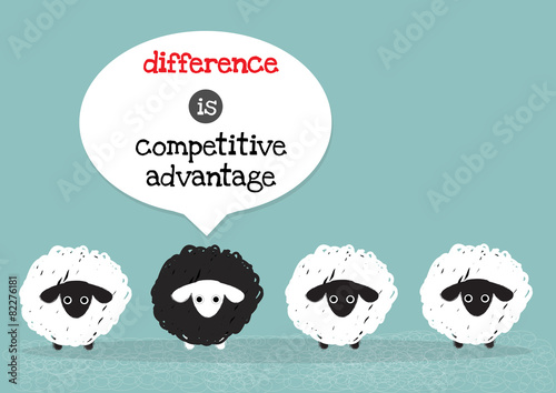 black sheep is competitive advantage
