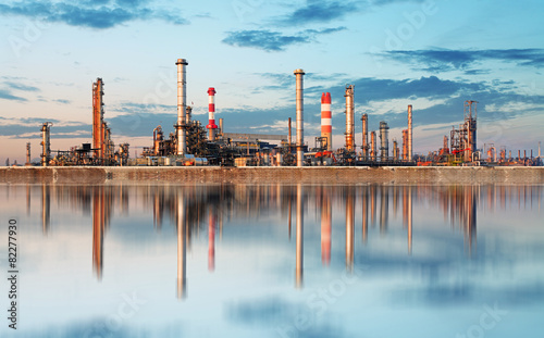 Foto op Canvas Industrial geb. Inustry - Oil Refinery, Petrochemical plant