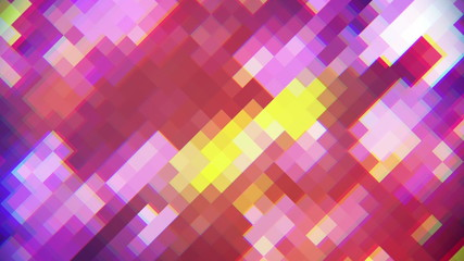 rhombus mosaic abstract loopable background