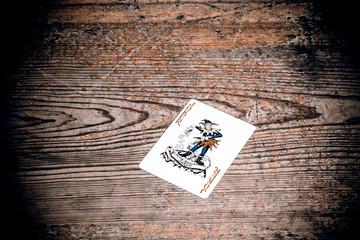 card with joker
