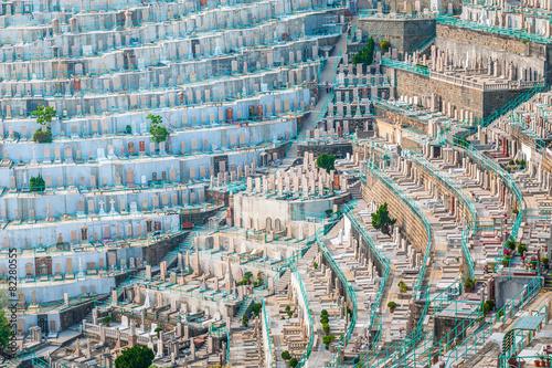 Graveyard in Hong Kong, Asia - 82280555