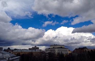 Clouds above Kazan
