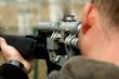 Leinwanddruck Bild - Sniper