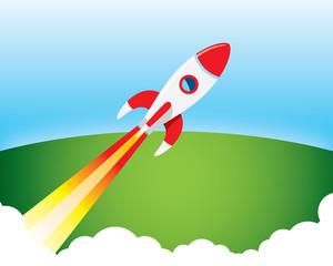 rocket blast diagonal