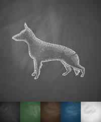 german shepherd icon