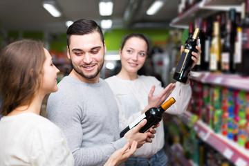 people buying beverages