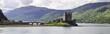 Leinwandbild Motiv Eilean Donan Castle in Schottland