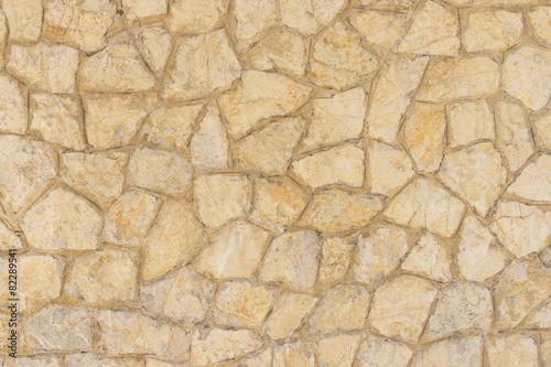 Leinwandbild Motiv Traditional rustic stone wall