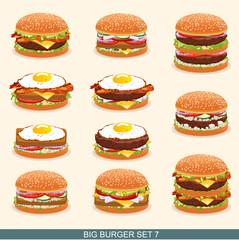 Burger set 7