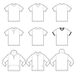 White Shirts Template